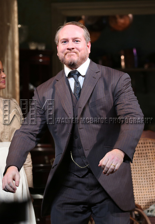 Darren Goldstein during the Broadway Opening Night Curtain Call bows for 'The Little Foxes' at Samuel J. Friedman Theatre on April 19, 2017 in New York City.