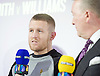 Frank Warren Boxing Promoter and BT Sport Press Conference at BT Tower London Great Britain <br /> <br /> 23rd January 2017 <br /> <br /> Frank Warren introduces Boxers who will be taking part in tournaments during 2017. <br /> <br /> <br /> <br /> Terry Flanagan is a British professional boxer. He has held the WBO lightweight title since July 2015, becoming the first Englishman to win a world title as a lightweight.<br /> <br /> <br /> Photograph by Elliott Franks <br /> Image licensed to Elliott Franks Photography Services