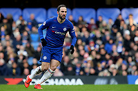 Gonzalo Higuain of Chelsea during Chelsea vs Huddersfield Town, Premier League Football at Stamford Bridge on 2nd February 2019