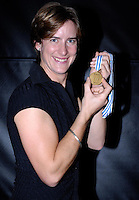 Lords, London, 03.02.2007, GB Rowing Teams Dinner,  Stroke of the GBR Women's Quadruple scull  Katherine GRAINGER, poses with her Gold medal after FISA's announcement on Mon 29.01.2007 that the bow of the Russian Quad had tested positive  in a drugs test. [Photo, Peter Spurrier/Intersport-images].  [Mandatory Credit, Peter Spurier/ Intersport Images].