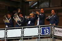 The England Band during the Women's Friendly match between England Women and Austria Women at stadium:mk, Milton Keynes, England on 10 April 2017. Photo by PRiME Media Images / David Horn.