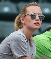 ESTER SATAROVA, TOMAS BERDYCH (CZE)<br /> <br /> Tennis - BNP PARIBAS OPEN 2015 - Indian Wells - ATP 1000 - WTA Premier -  Indian Wells Tennis Garden  - United States of America - 2015<br /> &copy; AMN IMAGES