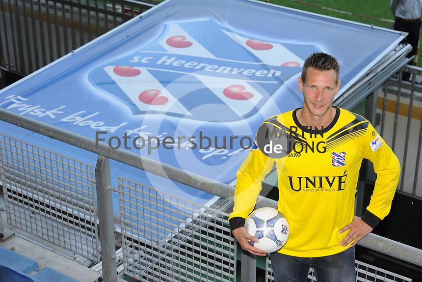 VOETBAL: HEERENVEEN: Abe Lenstra Stadion 11-07-2015, Erwin Mulder nieuwe keeper SC Heerenveen, ©foto Martin de Jong