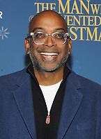 NEW YORK, NY - NOVEMBER 12: Director Baharat Nalluri attends 'The Man Who Invented Christmas' New York Screening at Florence Gould Hall on November 12, 2017 in New York City. <br /> CAP/MPI/JP<br /> &copy;JP/MPI/Capital Pictures