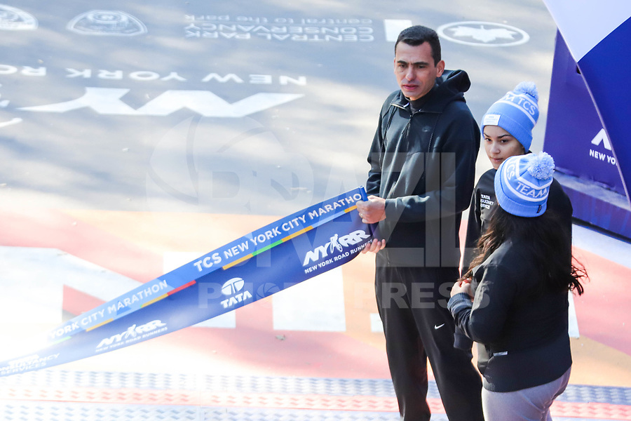 Nova York (EUA), 03/11/2019 - Maratona de Nova York - Ex-corredor de maratona Marílson Gomes dos Santos 2019 TCS New York City Marathon em 03 de novembro de 2019 em New York City (Foto: William Volcov/Brazil Photo Press)