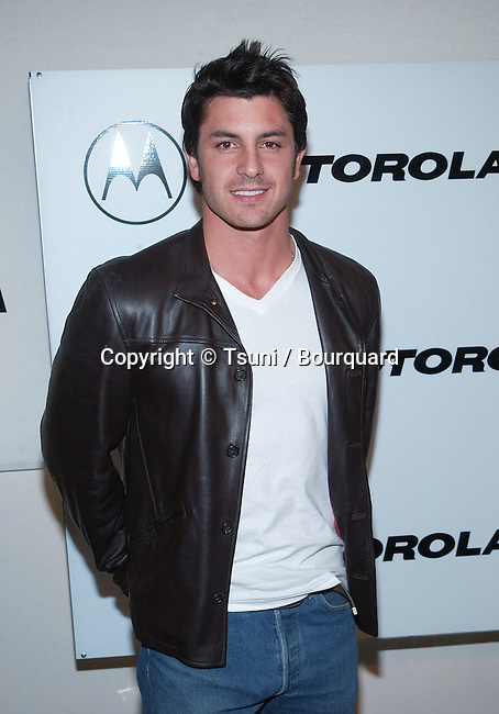 Diego Serrano arriving at the Motorola 3rd annual party, Toys for Tots at the Highland at Highland and Hollywood in Los Angeles. December 6, 2001.           -            SerranoDiego16.jpg