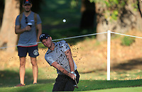Danny Wuillett (ENG) in action on the 11th during Round 2 of the ISPS Handa World Super 6 Perth at Lake Karrinyup Country Club on the Friday 9th February 2018.<br /> Picture:  Thos Caffrey / www.golffile.ie<br /> <br /> All photo usage must carry mandatory copyright credit (&copy; Golffile | Thos Caffrey)