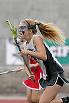 San Diego, CA 05/21/11 - Martha Byrne (Coronado #13) in action during the 2011 CIF San Diego Division 2 Girls lacrosse finals between Cathedral Catholic and Coronado.