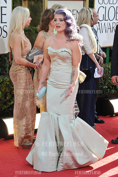 Kelly Osbourne at the 70th Golden Globe Awards at the Beverly Hilton Hotel..January 13, 2013  Beverly Hills, CA.Picture: Paul Smith / Featureflash