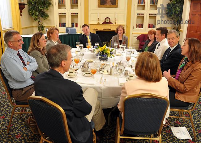 Oct. 25, 2011; Executive Vice President John Affleck-Graves ..Photo by Matt Cashore/University of Notre Dame