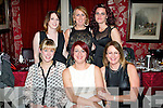 BIRTHDAY GIRL: Tracey O'Sullivan, Tralee (seated centre) celebrated her birthday last Friday night in Cassidy's, Tralee along with friends, seated l-r: Eva Boyle, Tracey O'Sullivan and Christine McAulliffe. Back l-r: Paula Duggan, Eileen Whelan and Lorraine Williams.