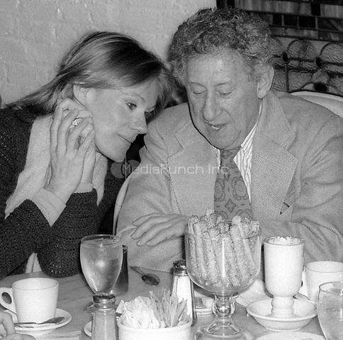 Tammy Grimes and Jack Gilford 1978<br /> Photo By Adam Scull/PHOTOlink /MediaPunch