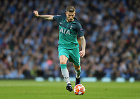 Tottenham Hotspur's Toby Alderweireld<br /> <br /> Photographer Rich Linley/CameraSport<br /> <br /> UEFA Champions League - Quarter-finals 2nd Leg - Manchester City v Tottenham Hotspur - Wednesday April 17th 2019 - The Etihad - Manchester<br />  <br /> World Copyright © 2018 CameraSport. All rights reserved. 43 Linden Ave. Countesthorpe. Leicester. England. LE8 5PG - Tel: +44 (0) 116 277 4147 - admin@camerasport.com - www.camerasport.com