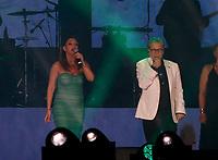 Nino D'Angelo festeggia i suoi 60 anni con un concerto nello stadio San Paolo di Napoli<br /> con Ida Rendano