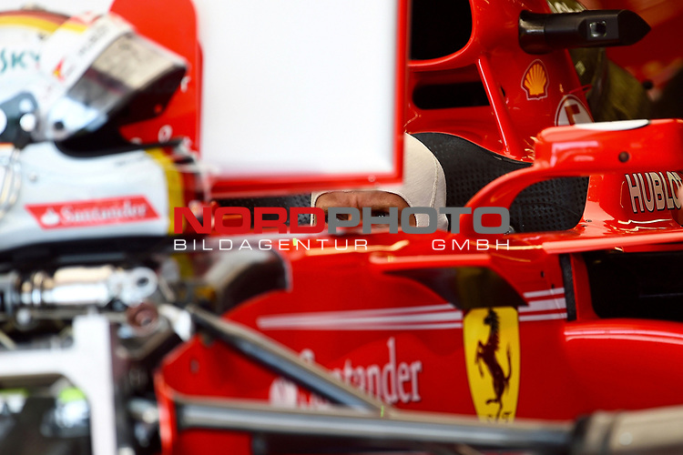 08.06.2017, Circuit Gilles Villeneuve, Montreal, FORMULA 1  GRAND PRIX CANADA, 09. - 11.06.2017 <br /> , im Bild<br />Sebastian Vettel (GER#5), Scuderia Ferrari<br /><br /> <br /> Foto &copy; nordphoto / Bratic