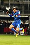 Patrick Mainka (Nr.6, 1.FC Heidenheim) beim Kopfball  beim Spiel in der 2. Bundesliga, SV Sandhausen - 1. FC Heidenheim 1846.<br /> <br /> Foto © PIX-Sportfotos *** Foto ist honorarpflichtig! *** Auf Anfrage in hoeherer Qualitaet/Aufloesung. Belegexemplar erbeten. Veroeffentlichung ausschliesslich fuer journalistisch-publizistische Zwecke. For editorial use only. For editorial use only. DFL regulations prohibit any use of photographs as image sequences and/or quasi-video.