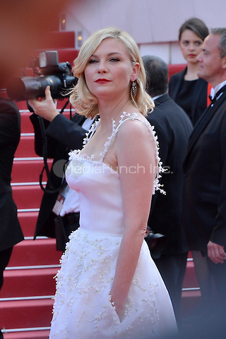 Kirsten Dunst at the 'Loving' screening during The 69th Annual Cannes Film Festival on May 16, 2016 in Cannes, France.<br /> CAP/LAF<br /> &copy;Lafitte/Capital Pictures /MediaPunch ***NORTH AND SOUTH AMERICA ONLY***