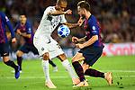 UEFA Champions League 2018/2019 - Matchday 3.<br /> FC Barcelona vs FC Internazionale Milano: 2-0.<br /> Miranda vs Ivan Rakitic.
