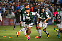 Seattle, WA - Tuesday June 14, 2016:Argentina forward Sergio Aguero (11) warms up prior to a Copa America Centenario Group D match between Argentina (ARG) and Bolivia (BOL) at CenturyLink Field
