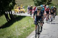 Johan Esteban Chaves (COL/ORICA-Scott)<br /> <br /> stage 7: Aoste &gt; Alpe d'Huez (168km)<br /> 69th Crit&eacute;rium du Dauphin&eacute; 2017