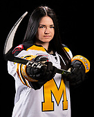 MORDEN, MB– Nov 4 2019: Team Manitoba during the 2019 National Women's Under-18 Championship at the Access Event Centre in Morden, Manitoba, Canada. (Photo by Matthew Murnaghan/Hockey Canada Images)