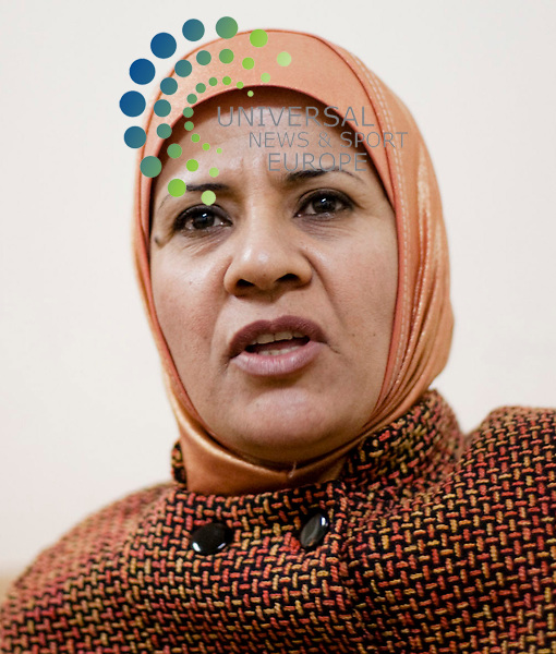 KIRKUK, IRAQ:  Ramla Hamid Al-Obaidi, an Arab member of the Kirkuk Provincial Council and candidate for the parliamentary elections...Picture: Sebastian Meyer/ Universal News And Sport (Europe). 11/03/2010.