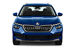 Car photography straight front view of a 2020 Skoda Kamiq Style 5 Door SUV
