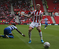 Stoke City's James McClean reacts to an off side decision <br /> <br /> Photographer Stephen White/CameraSport<br /> <br /> The EFL Sky Bet Championship - Stoke City v Queens Park Rangers - Saturday 3rd August 2019 - bet365 Stadium - Stoke-on-Trent<br /> <br /> World Copyright © 2019 CameraSport. All rights reserved. 43 Linden Ave. Countesthorpe. Leicester. England. LE8 5PG - Tel: +44 (0) 116 277 4147 - admin@camerasport.com - www.camerasport.com