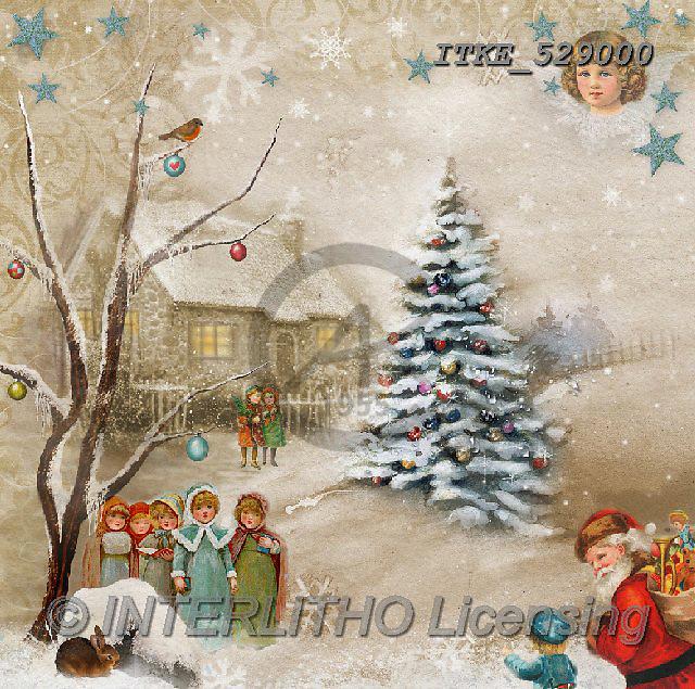 Isabella, CHRISTMAS CHILDREN, WEIHNACHTEN KINDER, NAVIDAD NIÑOS, paintings+++++,ITKE529000,#XK# ,nostalgic,retro