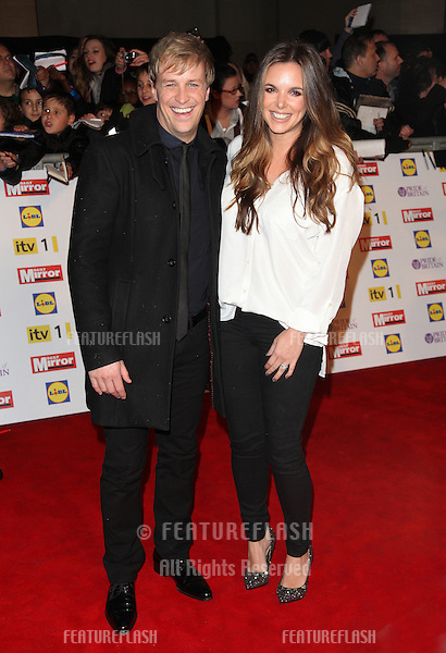 Kian Egan and Jodi Albert arriving for the 2012 Pride of Britain Awards, at the Grosvenor House Hotel, London. 29/10/2012 Picture by: Alexandra Glen / Featureflash