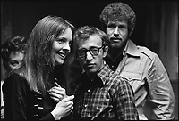 Annie Hall (1977) <br /> Diane Keaton, Woody Allen &amp; Tony Roberts<br /> *Filmstill - Editorial Use Only*<br /> CAP/KFS<br /> Image supplied by Capital Pictures