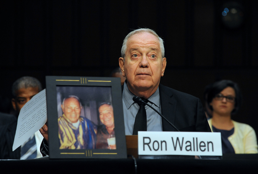 """Ron Wallen, of Indio, Calif., shares a personal story about the harms of DOMA during a hearing entitled """"S.598, The Respect for Marriage Act: Assessing the Impact of DOMA on American Families."""""""