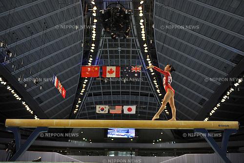 Asuka Teramoto (JPN), JULY 2nd, 2011 - Artistic Gymnastics : JAPAN CUP 2011, Women's Team competition at Tokyo Metropolitan gymnasium, Tokyo, Japan. .(Photo by Atsushi Tomura/AFLO SPORT) [1035].