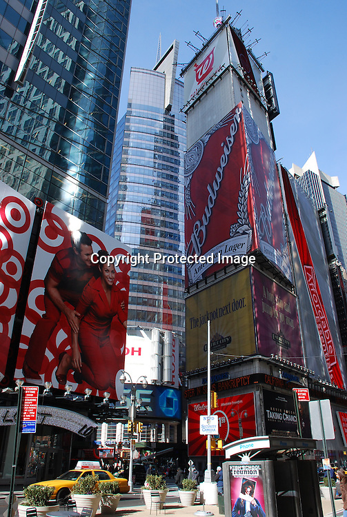 by Times Square