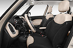 Front seat view of a 2014 Fiat 500L Lounge 5 Door MPV front seat car photos
