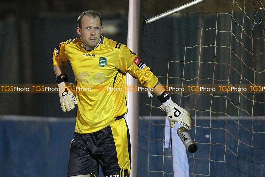 Thamesmead goalkeeper Robert Budd - Redbridge vs Thamesmead Town - Ryman League Division One North Football at Oakside, Barkingside - 26/03/13 - MANDATORY CREDIT: Gavin Ellis/TGSPHOTO - Self billing applies where appropriate - 0845 094 6026 - contact@tgsphoto.co.uk - NO UNPAID USE.