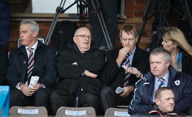 Paul Murray, John Gilligan and Dave King