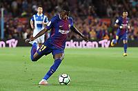 BARCELONA, 09-09-2017. LaLiga 2017/ 2018, date 3. FC Barcelona - RCD Espanyol. Ousmane Dembele of FC Barcelona. Foto Sergio Ruiz/ProShots/Insidefoto