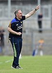 Clare selector David O Brien on the sideline during their Munster championship quarter-final game against Limerick in Cusack park. Photograph by John Kelly.