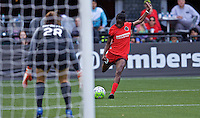 Portland, OR - Sunday, May 29, 2016: Portland Thorns FC forward Shade Pratt (29). The Portland Thorns FC and the Seattle Reign FC played to a 0-0 tie during a regular season National Women's Soccer League (NWSL) match at Providence Park.