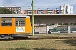 Milano luglio 2017 Gratosoglio capolinea tram n. 3