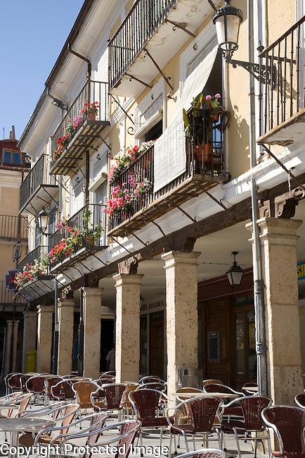 Plaza Mayor Square, El Burgo de Osma, Spain
