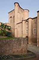Europe/France/Midi-Pyrénées/81/Tarn/ Albi: Le Palais de la Berbie ou se trouve le Musée Toulouse Lautrec