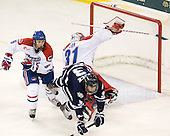 Daniel Furlong (Lowell - 6), Doug Carr (Lowell - 31), Austin Block (UNH - 3) - The visiting University of New Hampshire Wildcats defeated the University of Massachusetts-Lowell River Hawks 3-0 on Thursday, December 2, 2010, at Tsongas Arena in Lowell, Massachusetts.