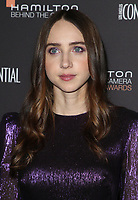 04 November 2018 - Los Angeles, California - Zoe Kazan. 10th Hamilton Behind the Camera Awards hosted by Los Angeles Confidential at Exchange LA. <br /> CAP/ADM/FS<br /> &copy;FS/ADM/Capital Pictures