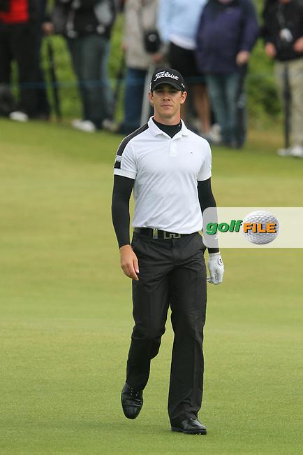 Estanislao Goya (ARG) on the 16th on Day 4 of the 2012 Irish Open at Royal Portrush Golf Club, Portrush, Co.Antrim, 1/7/12...(Photo Jenny Matthews/www.golffile.ie)