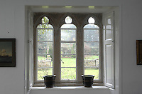 Pic by Si Barber  - 07739 472 922<br /> Creake Abbey in North Norfolk. Image shows - period window interior