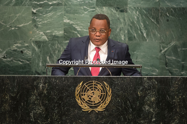 Congo<br /> H.E. Mr. Jean-Claude Gakosso<br /> Minister for Foreign Affairs<br /> <br /> <br /> General Assembly Seventy-first session 20th plenary meeting<br /> <br /> General Debate