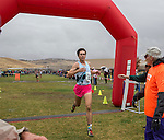 Douglases John Munyan finished second in the boys 4A 5k during the Northern Nevada Regional Cross Country meet at Shadow Mountain Park on Friday, October 28, 2016.