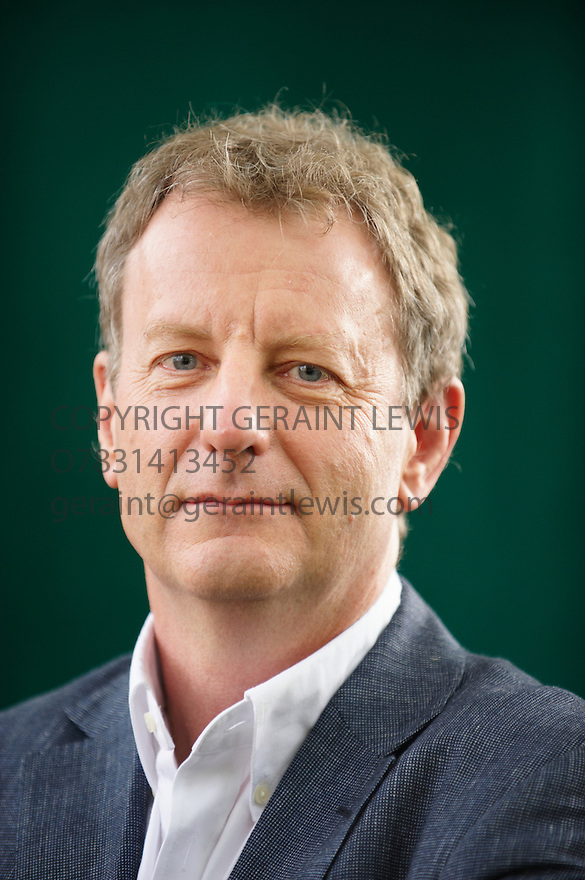 Jeremy Leggett,leading Solar Expert at The Edinburgh International Book Festival 2009.CREDIT Geraint Lewis